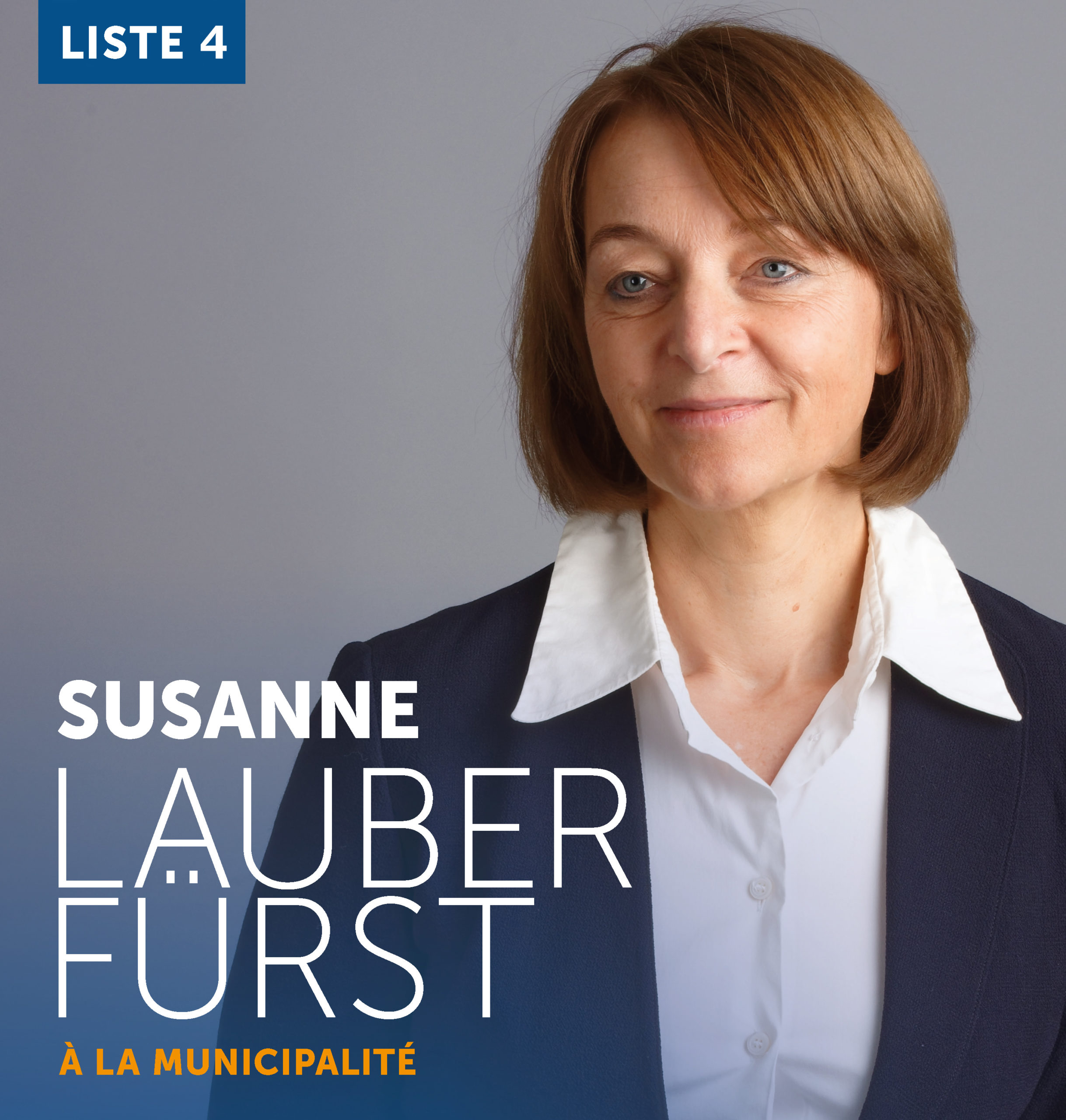 Susanne Lauber Fuerst - candidate à la municipalité